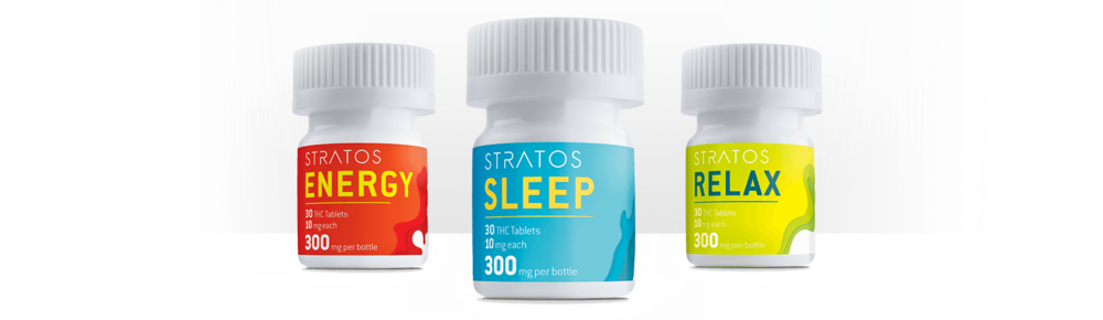 Energy Sativa, Sleep Indica, or Relax Hybrid Tablets (10mgs)