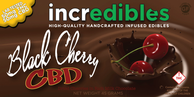 Black Cherry CBD and THC 1:1 (5mgs of both OR 10mgs of both)