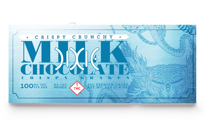 Crispy Crunchy Chocolate (100mg bar)