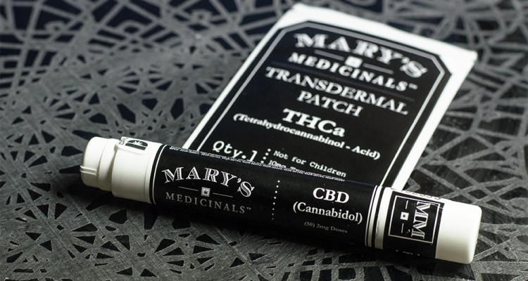Mary's Medicinals Transdermal Patch and Gel