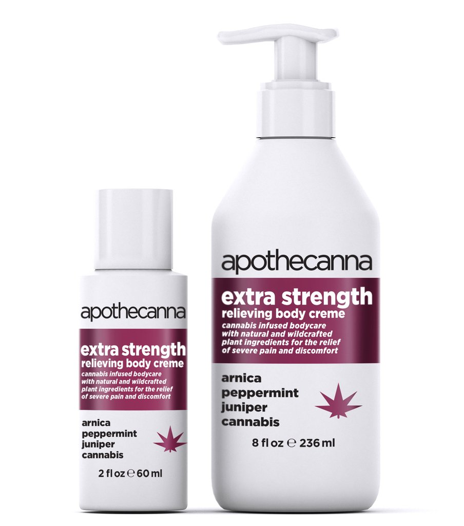 Apothecanna Extra Strength Peppermint Lotion