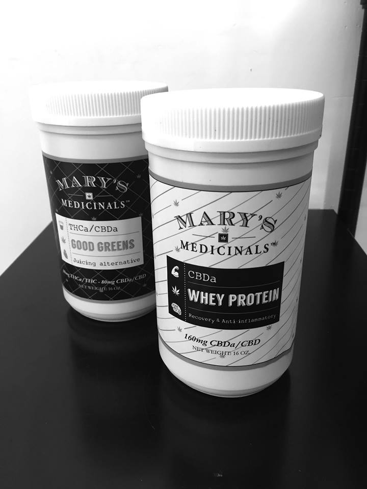 Mary's Medicinals Good Greens and Whey Protein Powder Drink Mixes