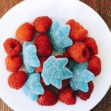 Sativa Gummies in Sour Blue Raspberry (10mgs)