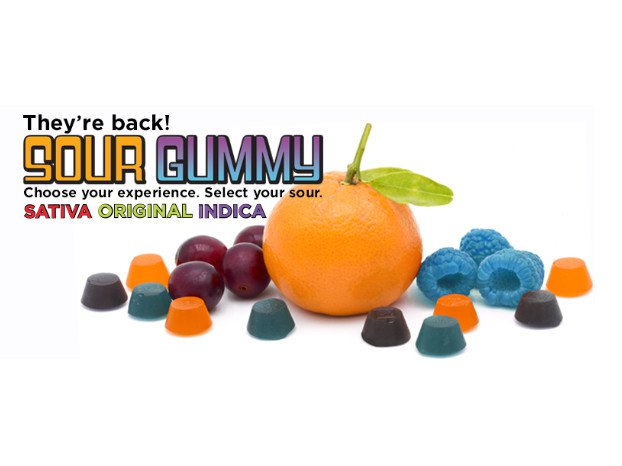 Indica Sour Gummies (10mgs)