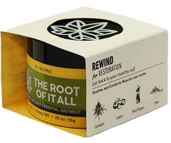 """Rewind"" Cannabis-Infused Essential Ointment"