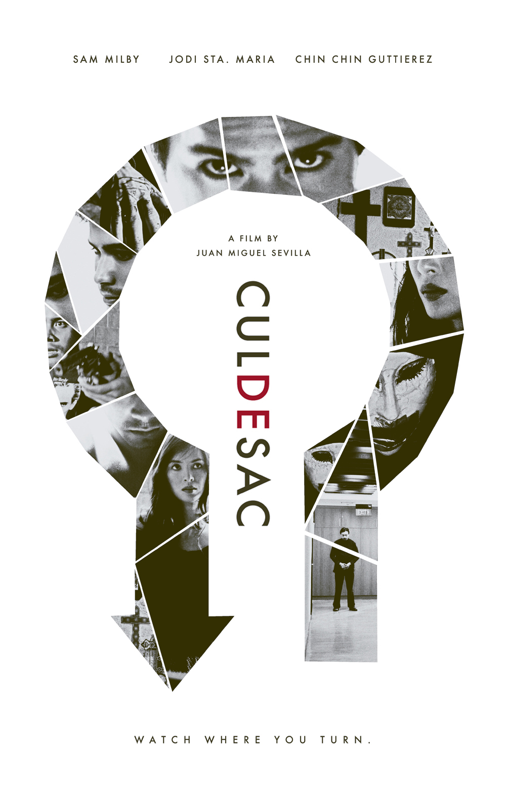 Cul de Sac   official one-sheet, 2009