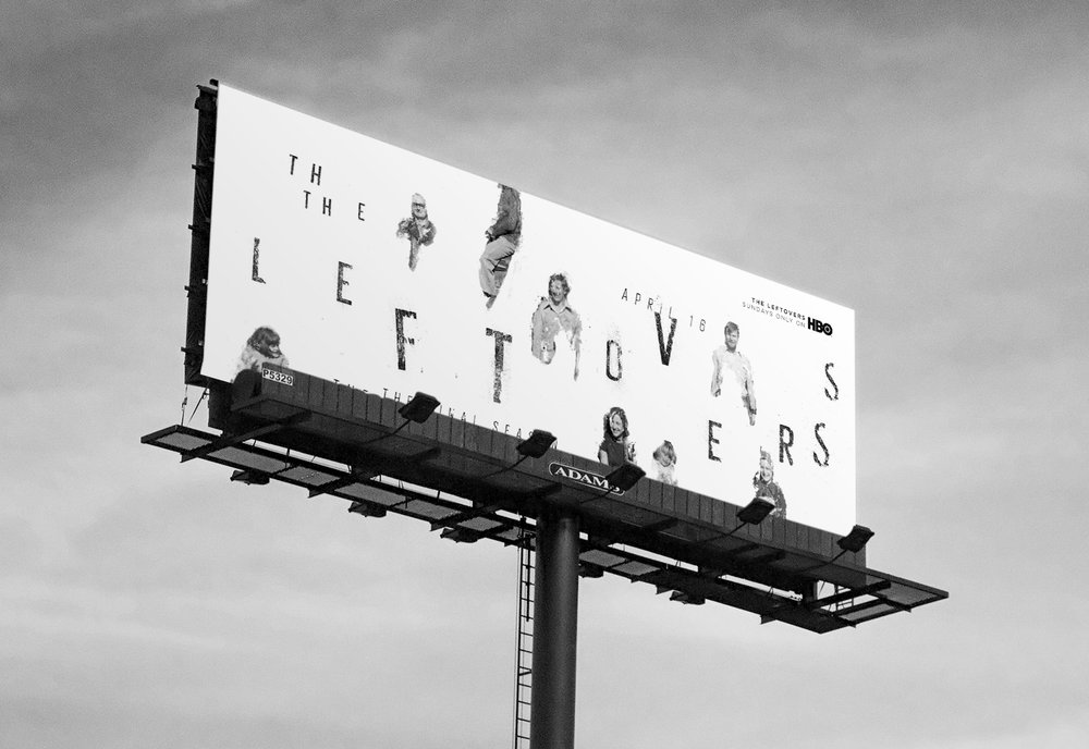 The Leftovers   billboard, 2017 (student work)