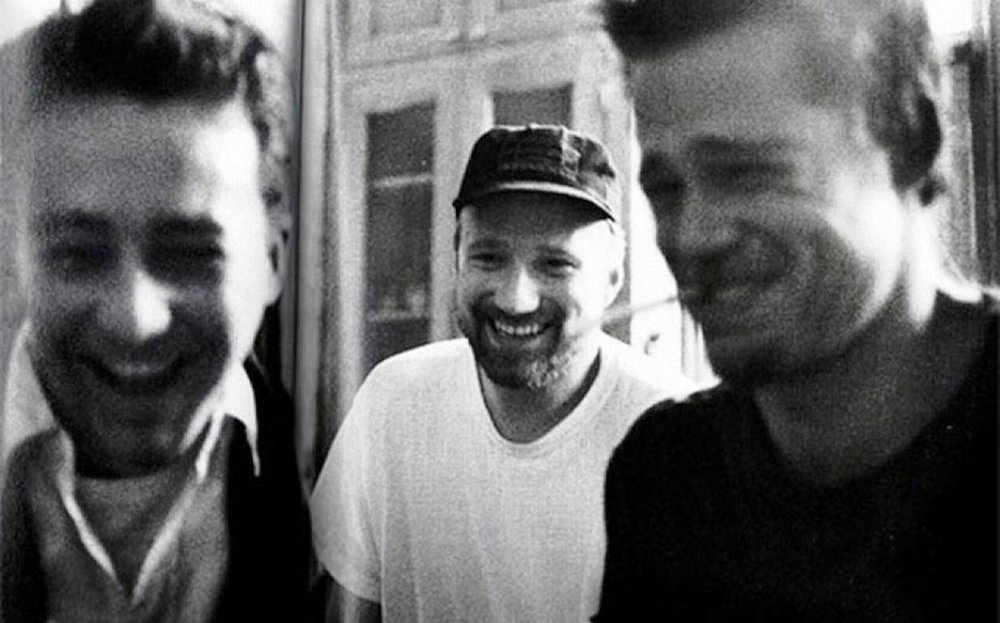 Edward Norton, David Fincher, and Brad Pitt,  Fight Club