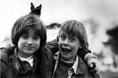 Elijah Wood and Macaulay Culkin,  The Good Son