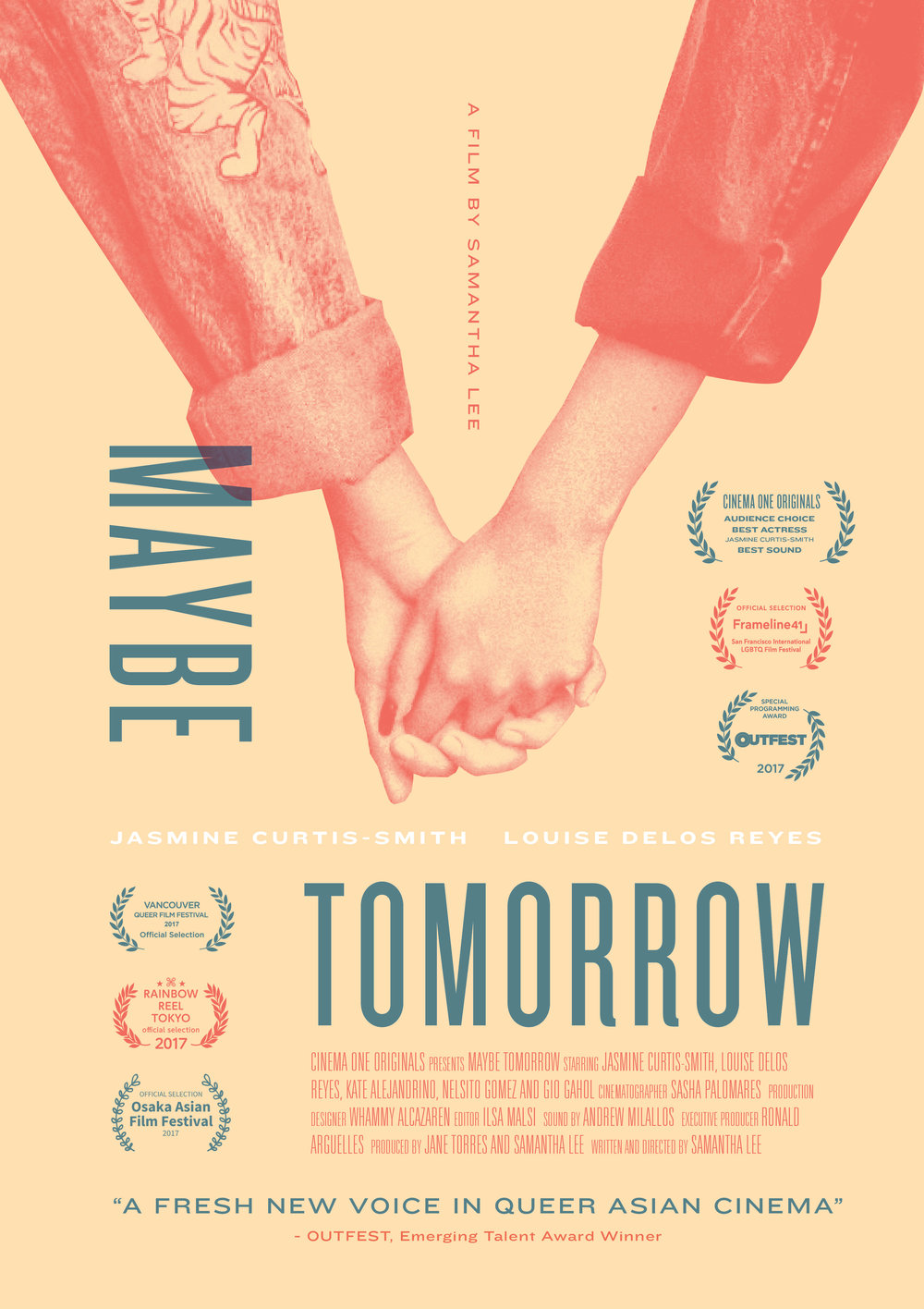 Maybe Tomorrow (Baka Bukas)   festival poster, 2016