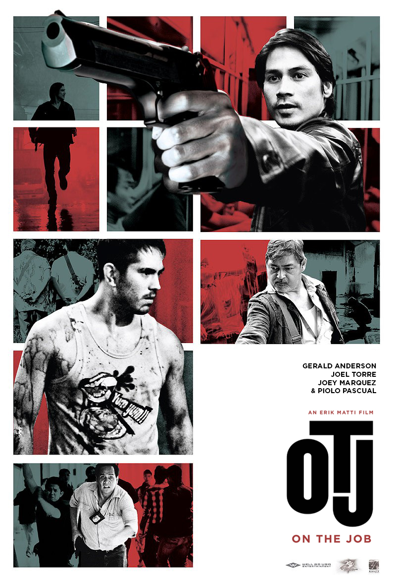 On The Job   official one-sheet, 2013