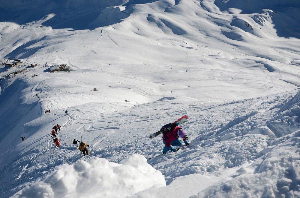 Hike i Val Thorens 2011.