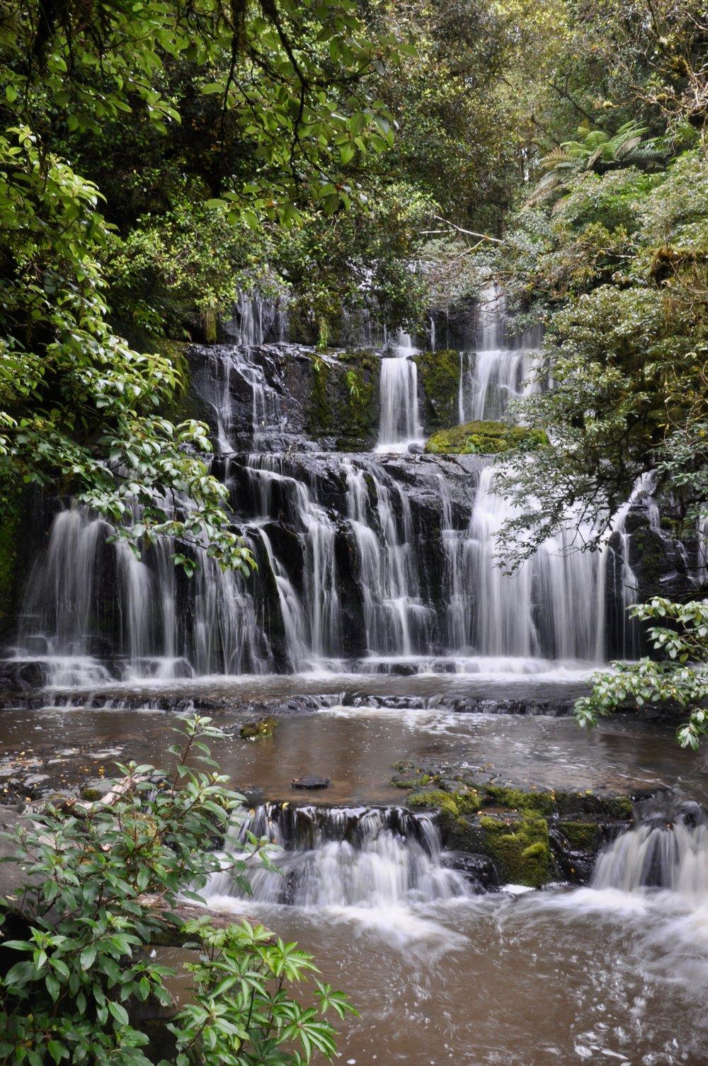 Purakanui Falls Catlins.