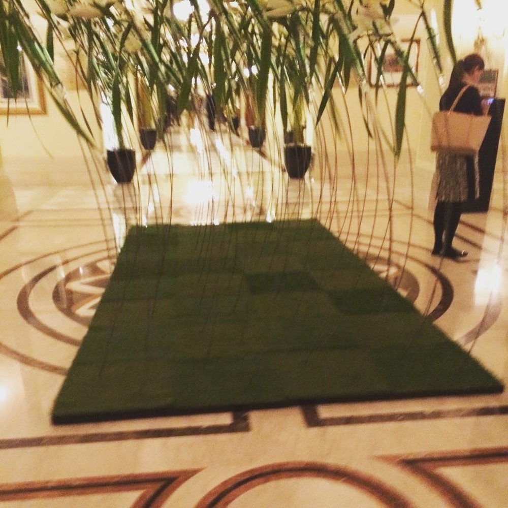 I got to close out my trip with a massage and a dinner at a VERY swanky hotel. Yes!!!!! (at Imperial Hotel Delhi)