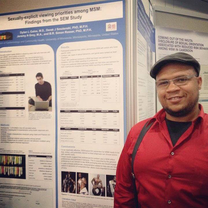 #TBT to International AIDS Society 2012. My first international conference presentation. Yes, that's research on porn. ;-) Heaviest I've ever been, and a knee injury made me unable to sit for long periods, but I made the most of it, and that time in DC. The experience inspired me to make some big changes in my life.