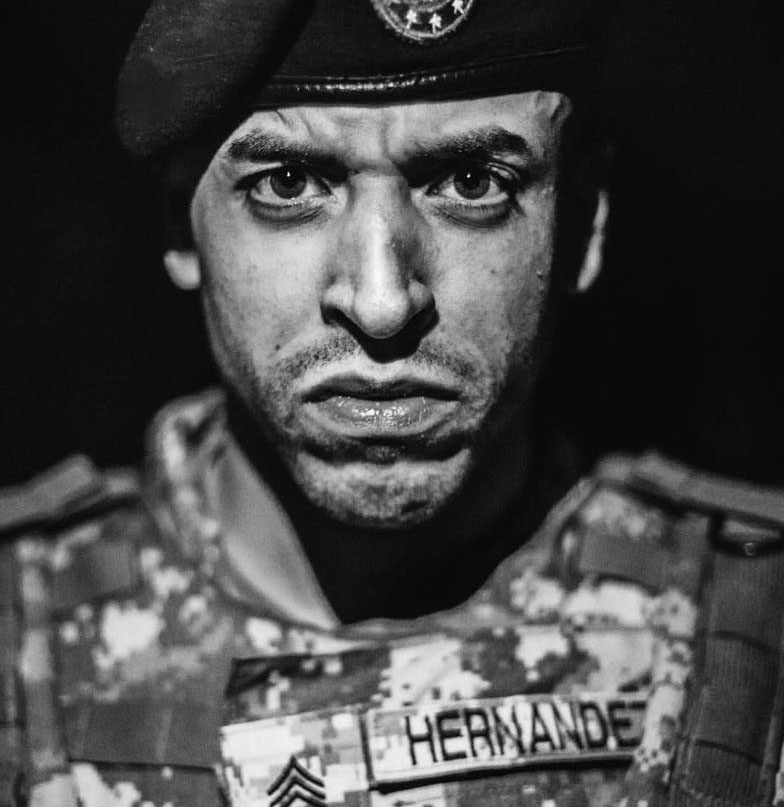 """A Combat Veteran - is a brand passionately dedicated to bringing more light and comedy to the Veteran community. Drew Hernandez continuously turns his past experiences into opportunities by creating distinctive videos about what it means to be or to know a Combat Veteran on a weekly basis. By doing so, he has grasped the attention of not only the close-knit community of Veterans alike, but that of civilians as well and has contagiously resonated with all who support the military.Drew served active duty as an MP from 2006 to 2011, which also included tours in Iraq and Afghanistan. While working as a private contractor in Iraq during 2015, his Facebook page, A Combat Veteran, was born. He created it to feature his first video titled """"10 Ways To Identify A Combat Veteran"""", which is a satirical comedy that gained immediate popularity. Within just three days of its release, the video attained 1.5 million views. The page's numbers have continued to rapidly flourish, reaching over 200,000,000 views and over 700,000 followers on Facebook, YouTube, and Instagram combined.A Combat Veteran has become renowned for being a positive influence to its viewers and has successfully done this by striving towards its mission, which is to utilize Drew's military service experience as the tip of the spear to create comedy that brings humor and joy to the Veteran community."""