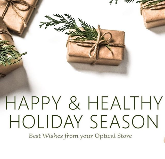 Happy and healthy Holiday season ! 🎄🎁🕶👁 @foresthillsvisionassociates #holidayseason #happyholidays #eyedoctor #eyecare #queensnyc #foresthillsvision #yourvisionmatters #optometrist