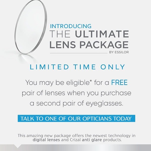 Introducing the Ultimate Lens Package by @essilorusa @foresthillsvisionassociates . #essilor #eyeglasses #lens #antiglare #digitallenses #foresthills #nyc #optometrist #eyedoctor