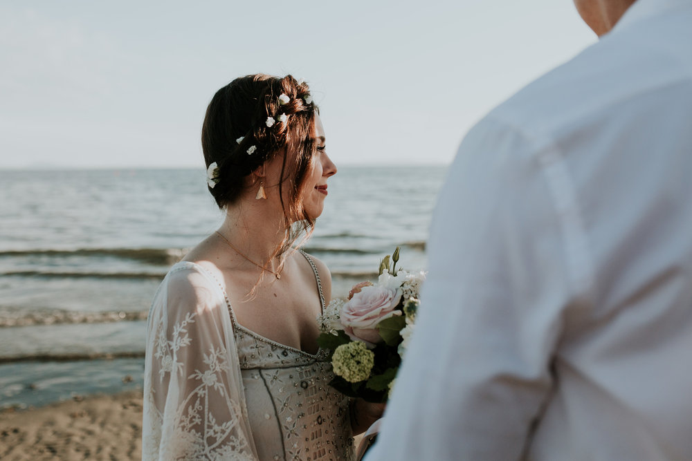 White Rock Elopement Cait Kennedy Photography