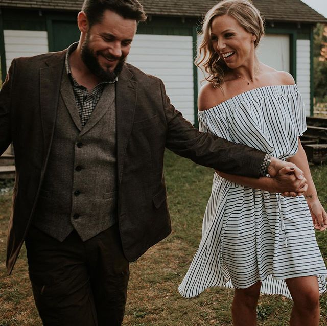 Happy wedding day to these two! See you soon Britta and Dustin. . . . . #caitkennedyphotography #weddingday #bcwedding #photobugcommunity #langleyphotographer