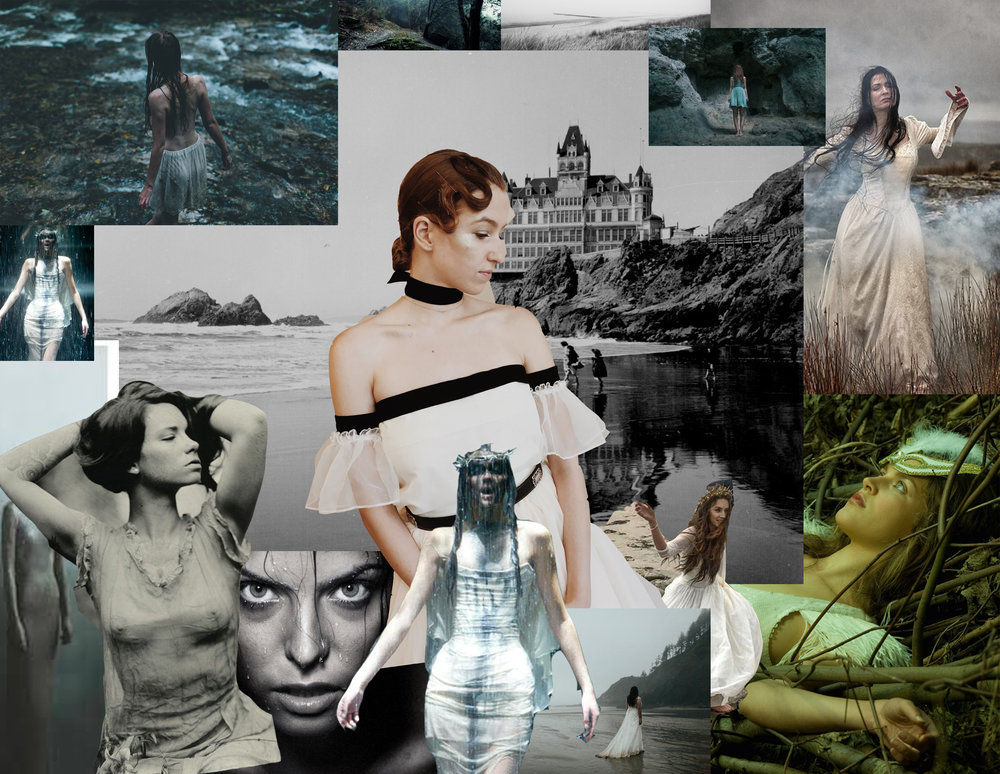 Mood Board for editorial