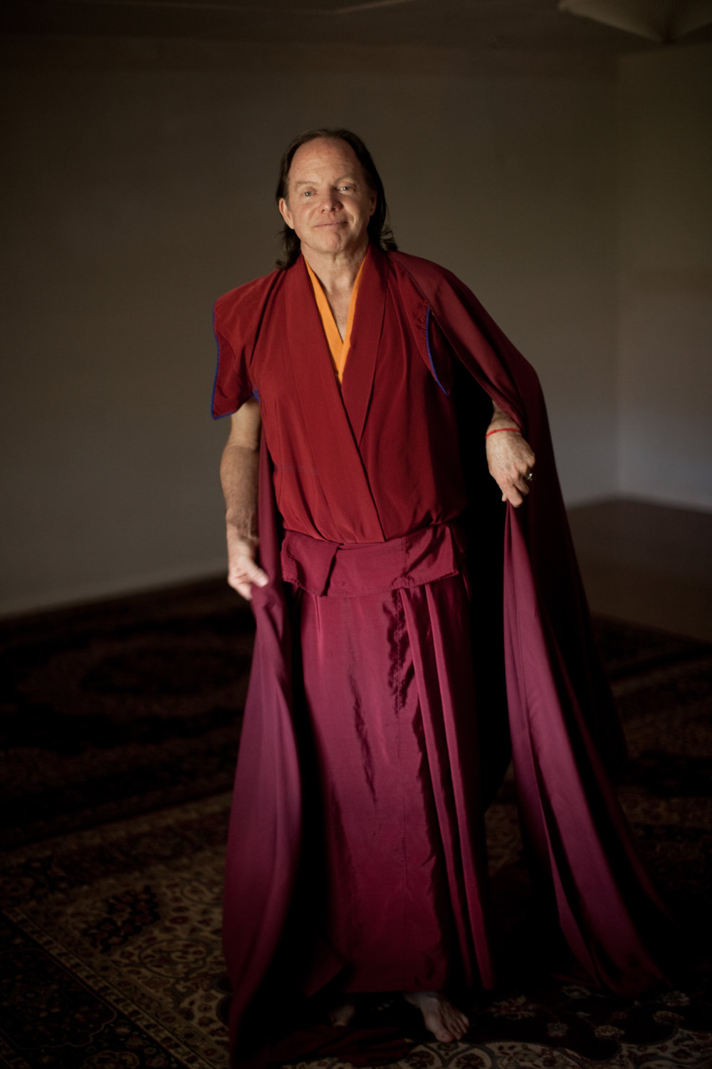 Geshe Michael Roach b. 1952 - Geshe Michael Roach (1952-present) grew up in Phoenix, Arizona, where he was an honors student with an interest in religion and social issues. He was awarded a scholarship to Princeton University and after graduation he went to study and live at Rashi Gempil Ling, with Khen Rinpoche Geshe Lobsang Tharchin. In 1995 he completed his studies with Khen Rinpoche and at Sera Monastery in India, and became the first American to be awarded the Geshe degree. While completing this work, he also developed and taught the seven-year Formal Study Program, which parallels the same core information taught at the Tibetan Buddhist monastery. That original program of 18 courses captures the essence of the six Great Books of Buddhism, as a means to train the next generations of western Buddhist teachers. Asian Classics Institute began with the mission to provide the recordings online, live teachings and by correspondence for anyone who would like to pursue these studies.In addition to his work with Diamond Cutter Institute, whose aim is to present the core teachings of Buddhism in a more universal presentation, Geshe Michael continues to translate and to teach Buddhist texts to many different audiences, in many facets. It is the aim of Asian Classics Institute to continue to make this material and teachings available to improve the lives of people in our communities and throughout the world.