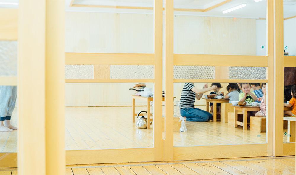神奈川A保育園「子どもが触れるやわらかな形」  →詳しく見る