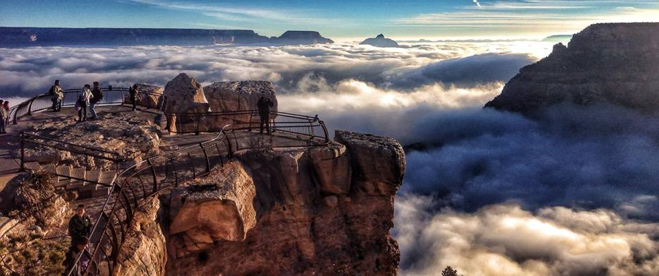 Fog in the Grand Canyon