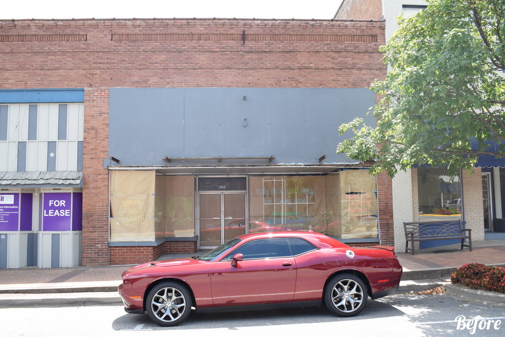 Downtown Springdale Facade Project
