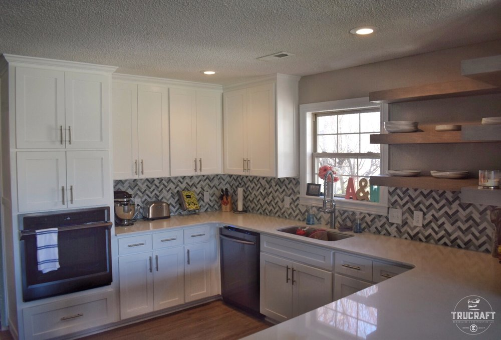 Quartz Cabinets Custom kitchen Remodel