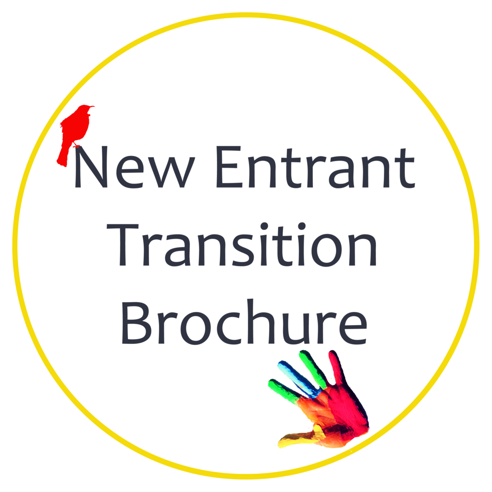 New Entrant Transition Brochure Hira School Button