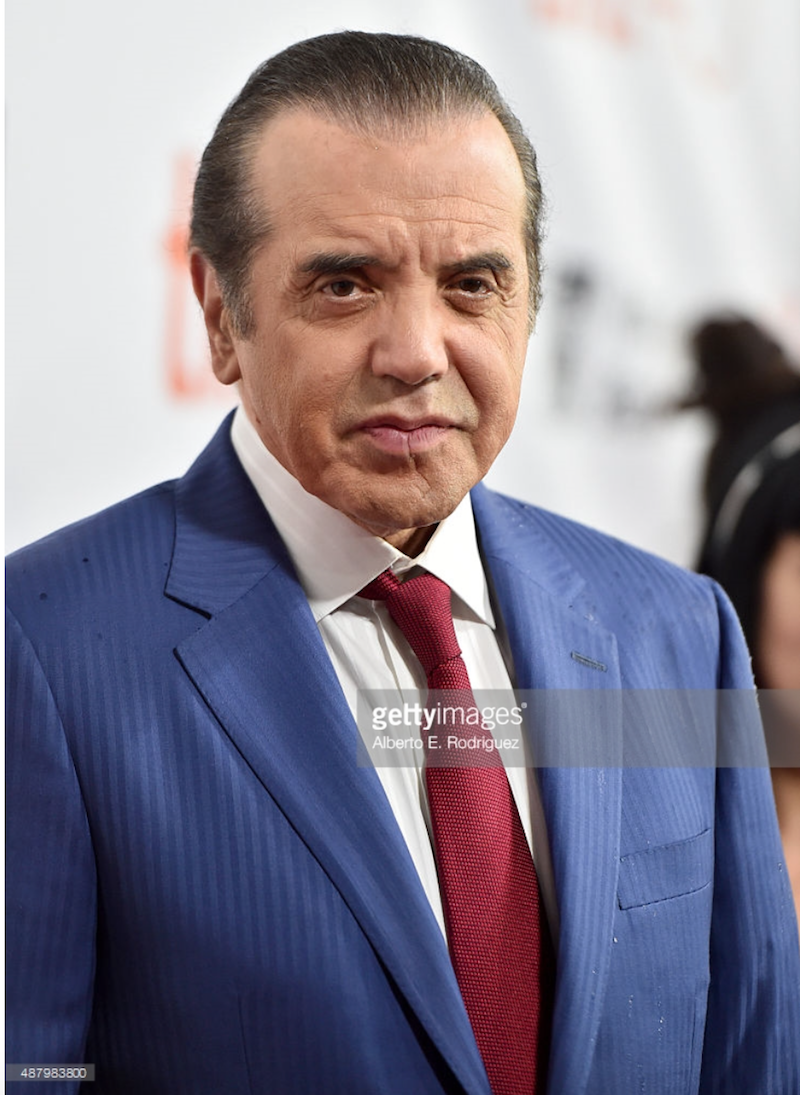 Grooming for Chazz Palminteri