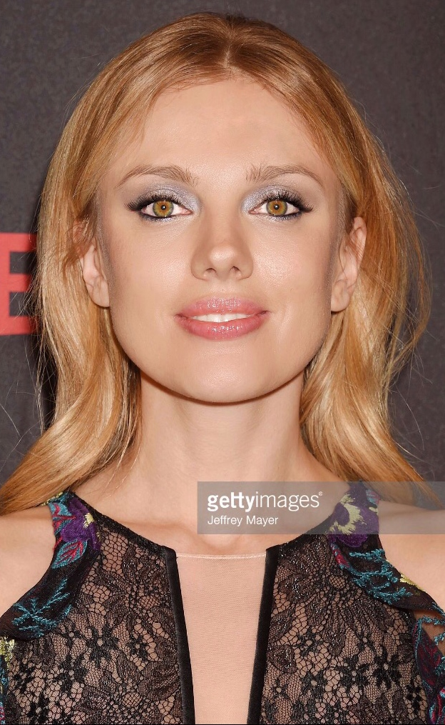 Makeup & hair for Bar Paly