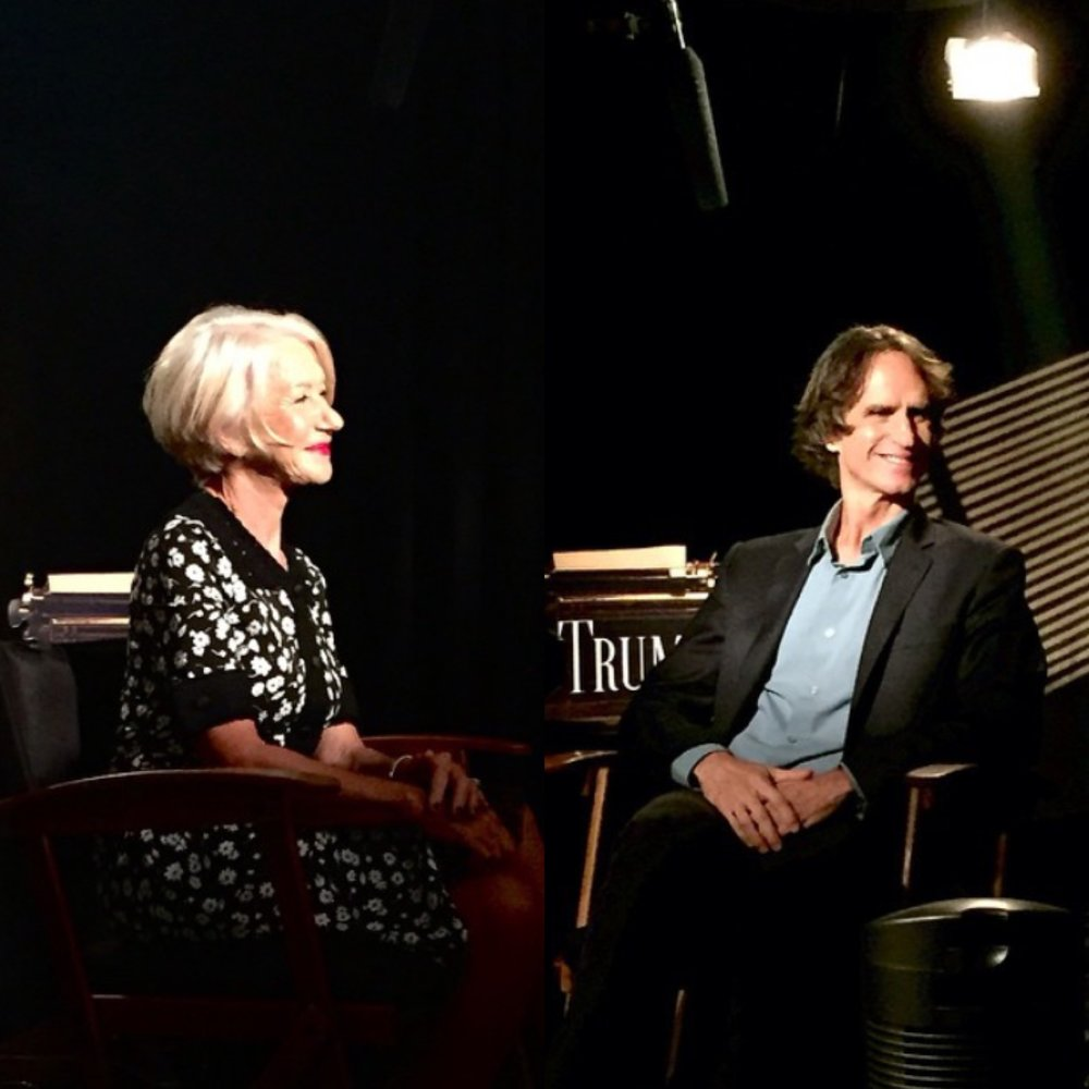Grooming for Director Jay Roach