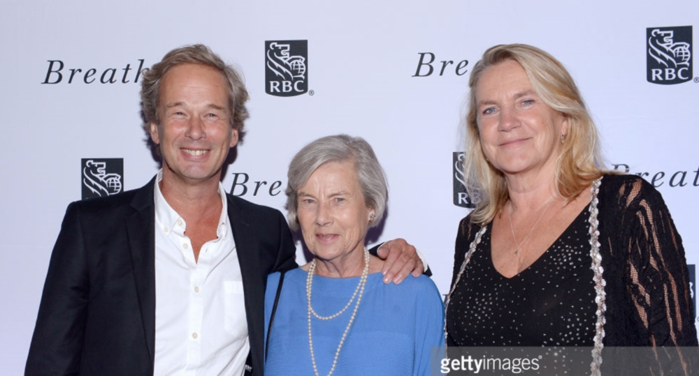 Makeup & Hair for Diana Cavendish (middle) TIFF 2017 Breathe premiere