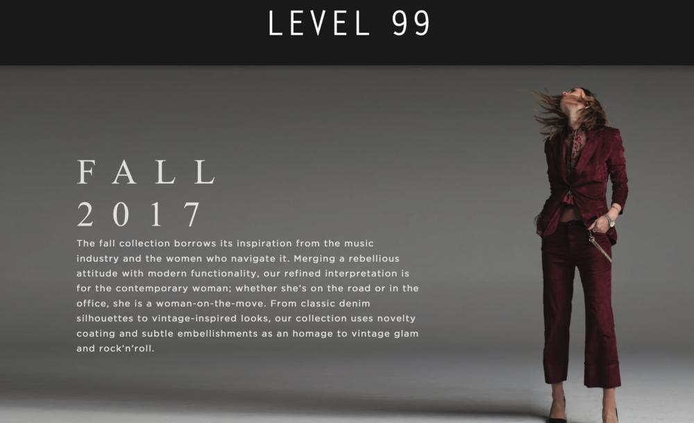 Level 99 Fall 2017