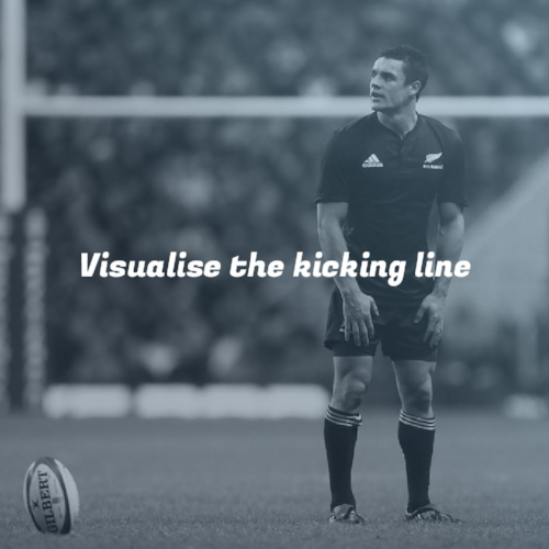 Visualise the kicking line Take your #rugbykicking to the next level. #rugby #KickingCoach