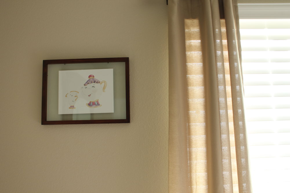 - No room would be complete with out a Little Moon Dance print or 5 HAHA! I got the frames from Target of course!