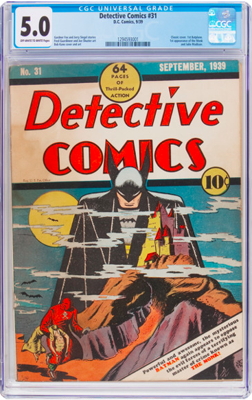 Detective Comics 31 CGC 5.0