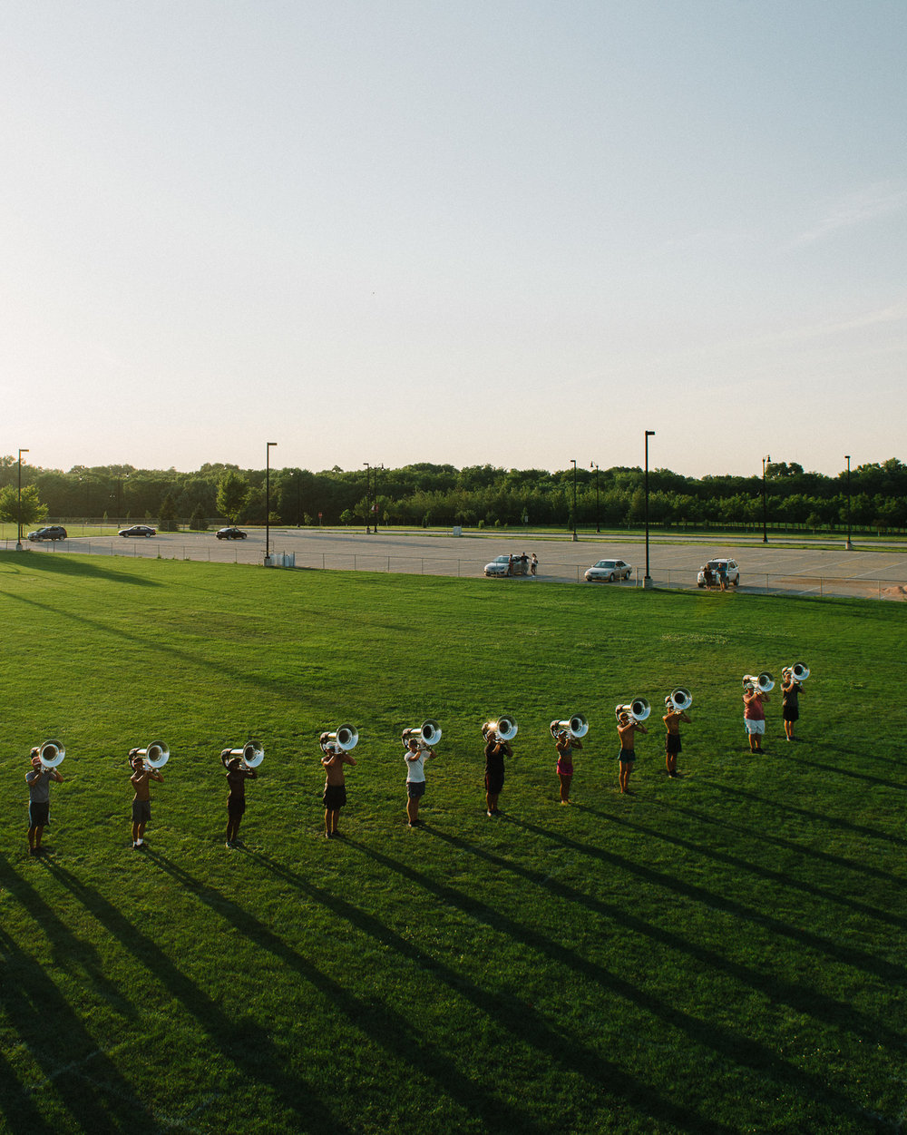 Tubas at Sunset, 2016