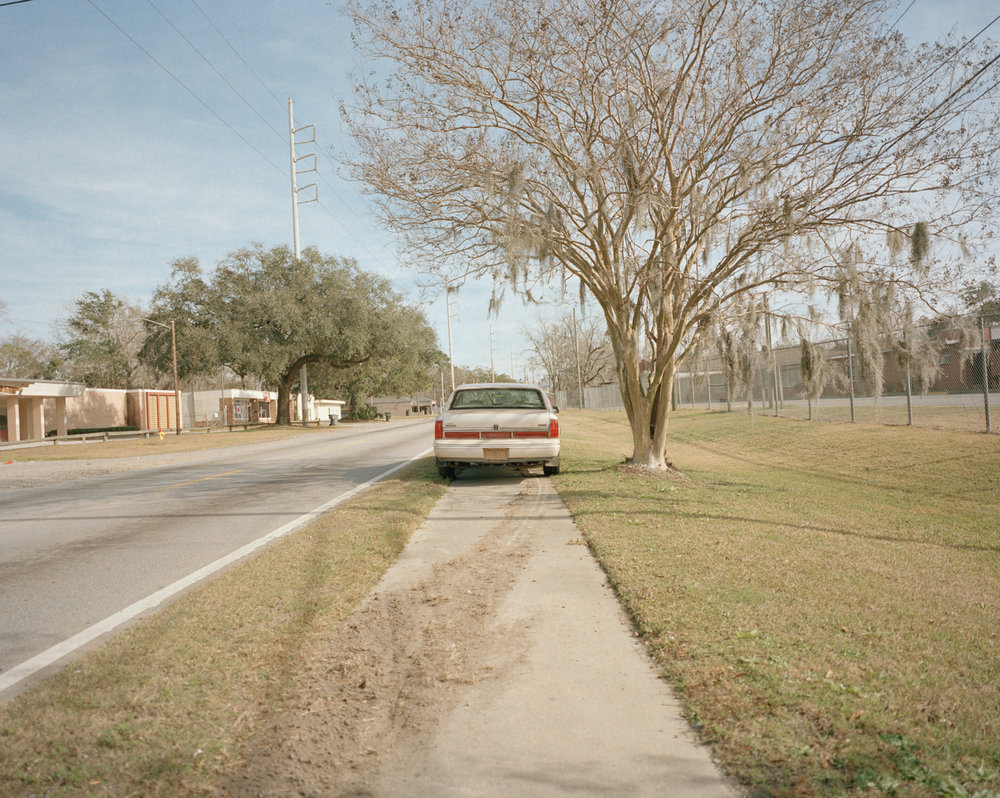 Untitled (Sidewalk Car)