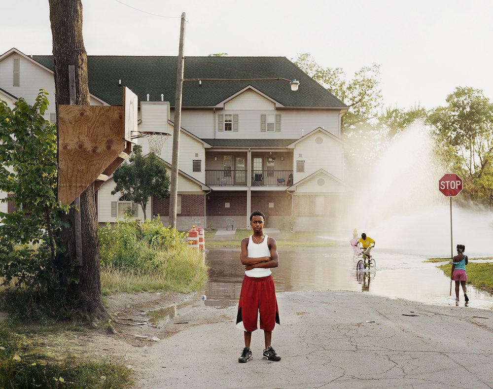 Open Fire Hydrant, Detroit