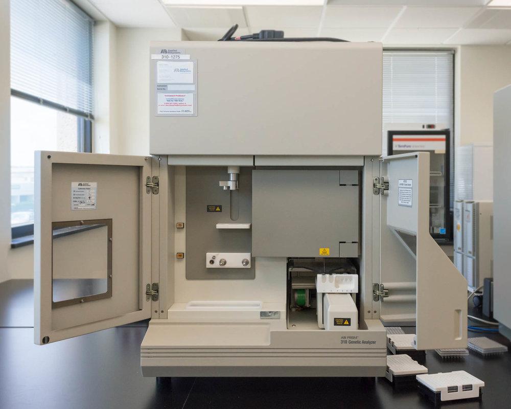 A machine which writes DNA profiles into the CODIS, Tulsa, Oklahoma, 2016