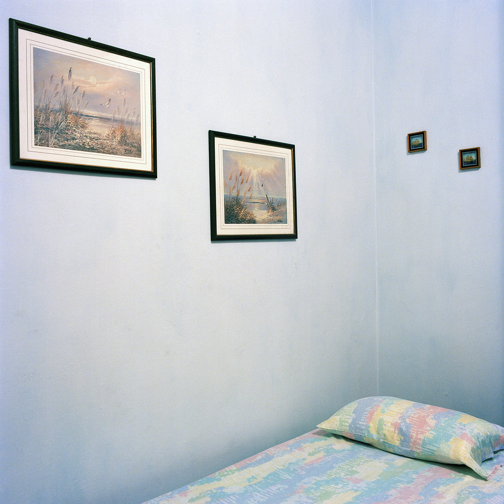 Marta's blue room  © Meg Griffiths