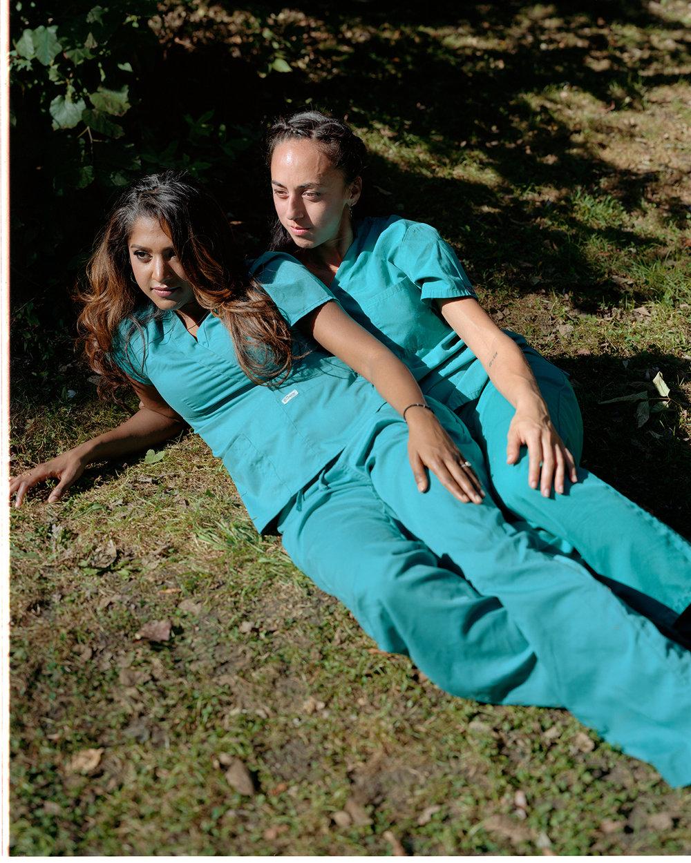 Two Nurses  2017 ©Ian Lewandowski