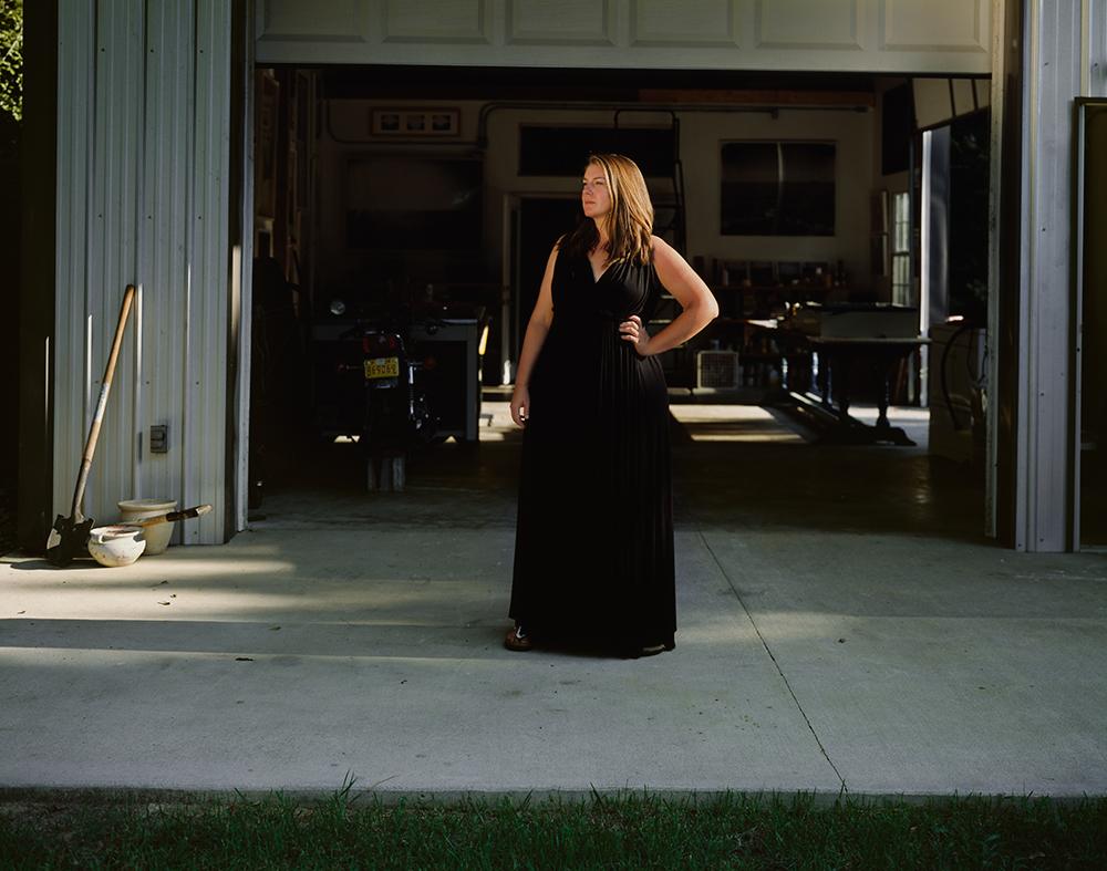 Lauren Greenwald at Her Studio, Columbia, South Carolina, 2016 © Ashley Kauschinger