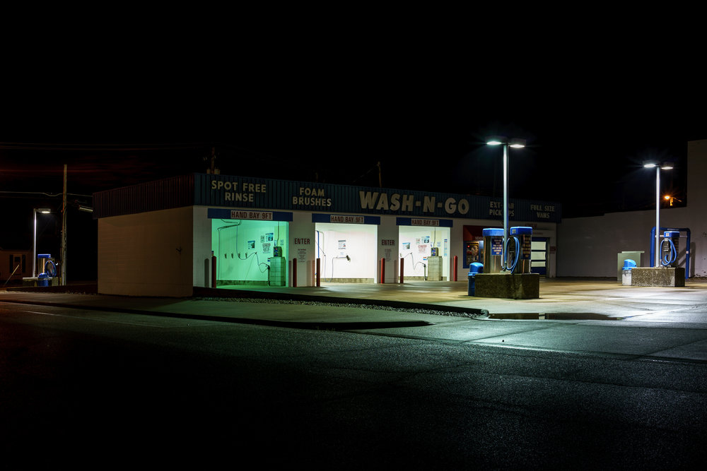 Wash-N-Go, Olney, Illinois, 2016 © Nate Larson