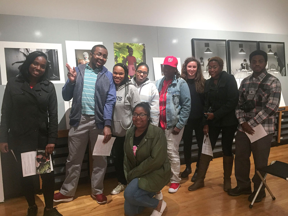 Field Trip to Museum of Contemporary Photography, Fall 2017