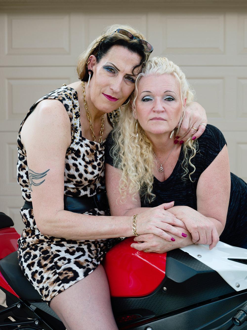 SueZie, 51, and Cheryl, 55, Valrico, FL,  2015 © Jess T. Dugan