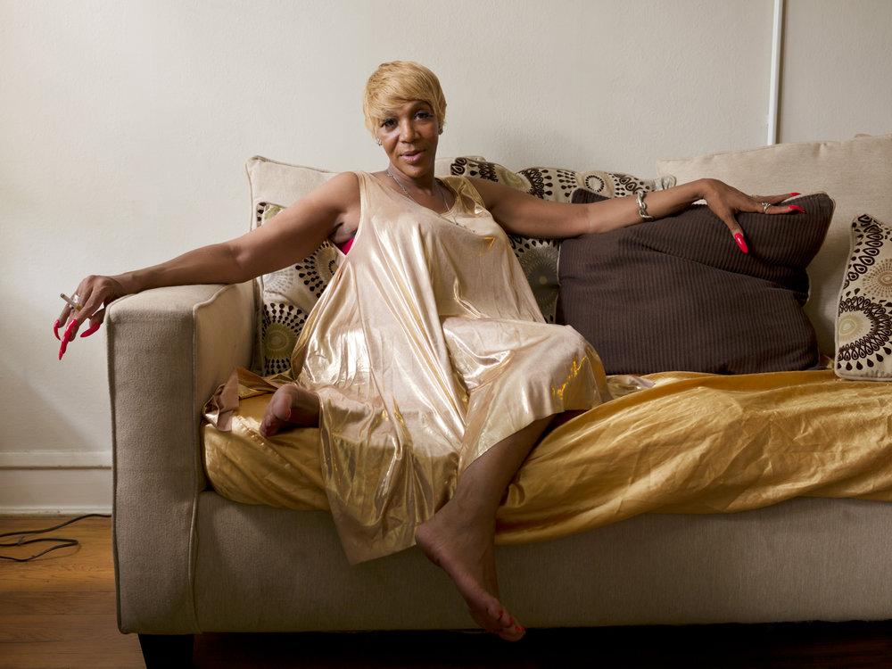 Caprice, 55, Chicago, IL,  2015 © Jess T. Dugan